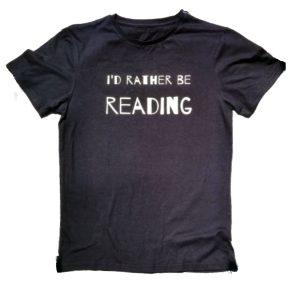 Id rather be reading kantiga shirt