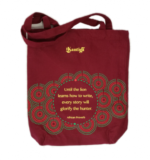 Telling our own stories Maroon Kantiga Bag