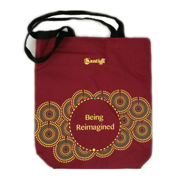 Being Reimagined Kantiga Maroon Bag