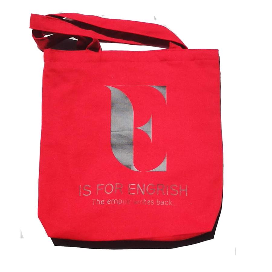 E is for Engrish Kantiga tote bag