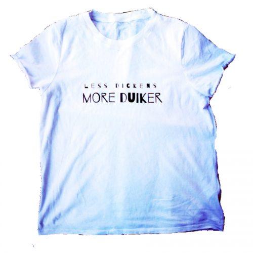 Less Okri more Duiker kantiga shirt